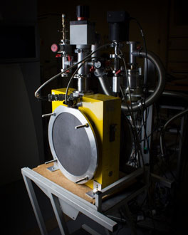 The graphite calorimeter which is used at the primary standard for absorbed dose in megavoltage beams